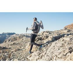 Veste chaude de randonnée rapide Homme FH 900 Hybride grise lune