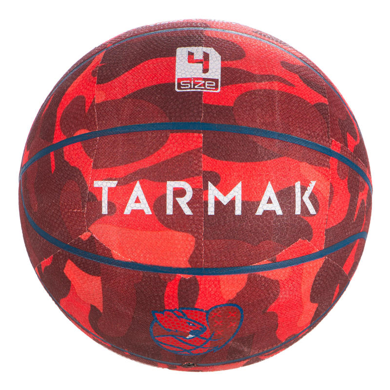 Basketbol Topu - 4 Numara - Kırmızı - K500
