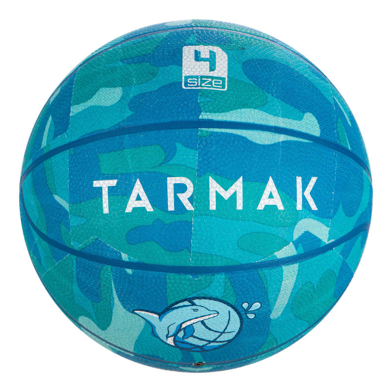 Basketbol Topu - 4 Numara - Turkuaz - K500 ANIBALL