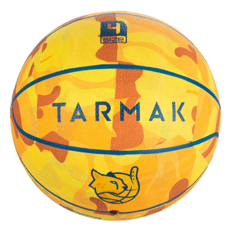 Basketbal voor beginnende kinderen tot 7 jaar K500 geel.