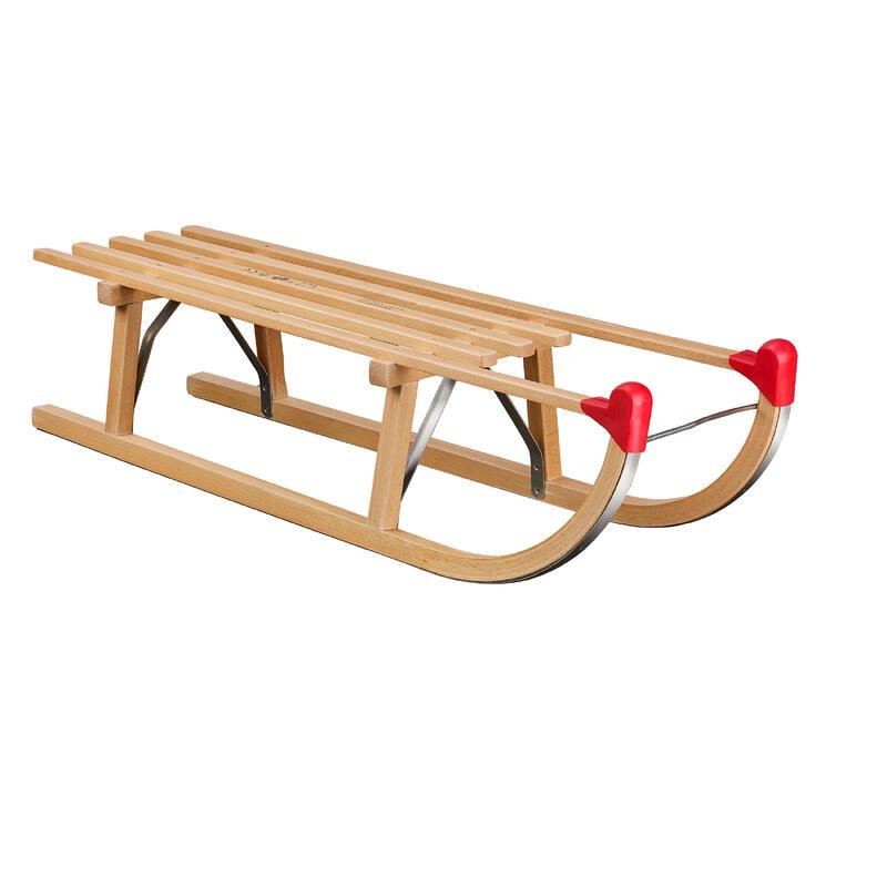 Sanie clasică lemn Davos 100 cm