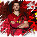Belgia Echipa naţională Fotbal - Tricou replică Belgia Adulți  ADIDAS - Fotbal