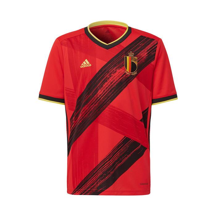 Voetbalshirt voor kinderen replica thuisshirt België 2020