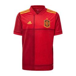 Voetbalshirt Spanje thuisshirt EK 2020 voor kinderen rood/geel