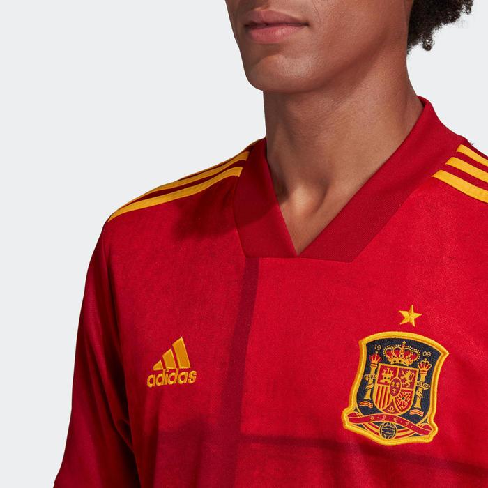 Fußballtrikot Replika Spanien Heim Erwachsene EURO 2020