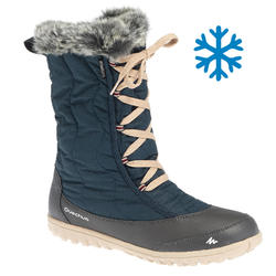 Women's Snow Boots SH500 (X-Warm) - Blue