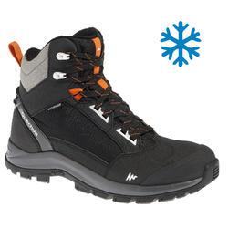 Men's Snow Hiking Shoes SH520 X-Warm Mid - Black