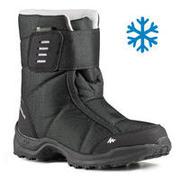 Kids' Warm Waterproof Snow Hiking Boots SH100 X-Warm Size 7 - 5.5