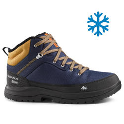 Men's Snow Hiking Shoes (Mid Ankle) SH100 - Blue