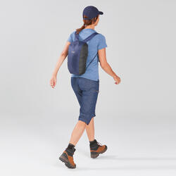 Compact Travel Trekking Backpack TRAVEL 10 L Navy Blue