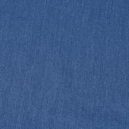 Cinta para cabeza. Trekking en montaña TREK 500 multiposición lana merina azul