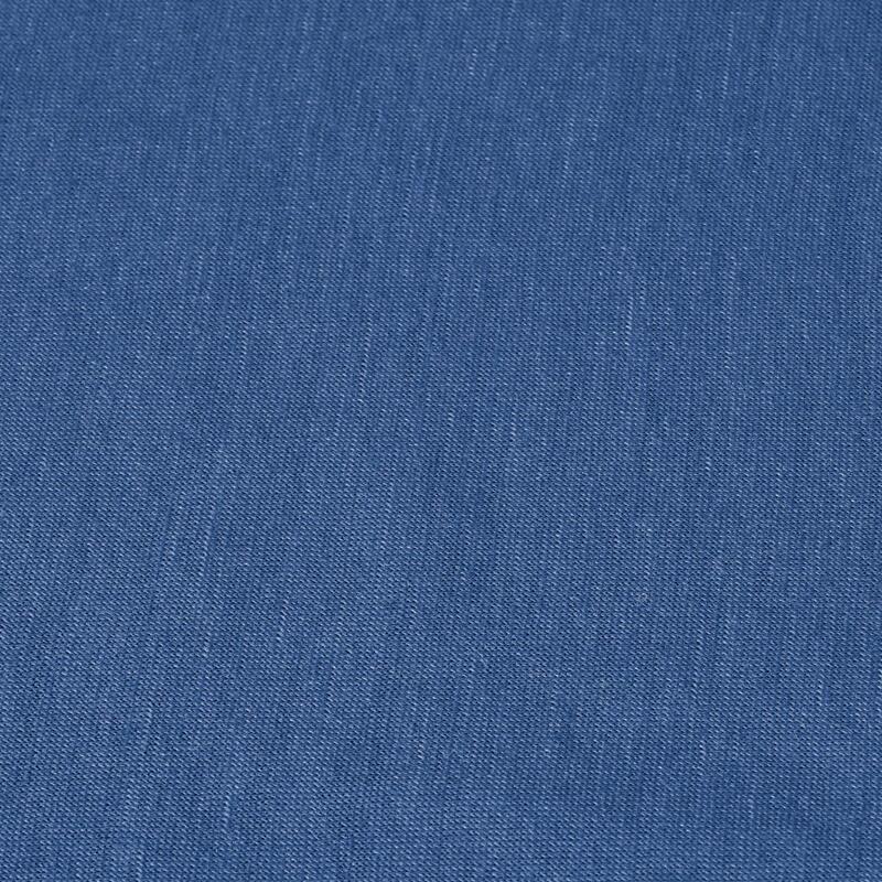 Cuello de trekking en montaña multiposición TREK 500 lana merina azul