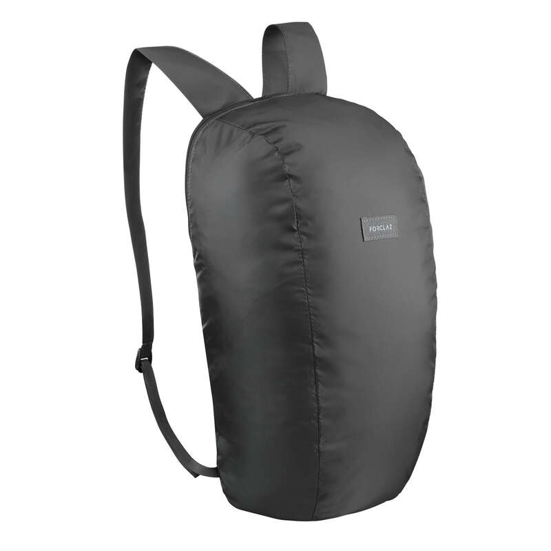 COMPACT BACKPACKS TRAVEL ACC TRAVEL TREK Hiking - Compact 10L Backpack Tvl - Blk FORCLAZ - Hiking Backpacks and Bags