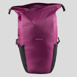 Sac à dos compact et imperméable 20L de trek voyage | TRAVEL violet