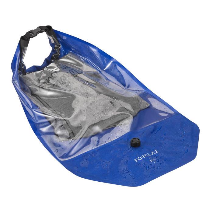 Waterdichte compressiehoes voor trekking - 25 liter