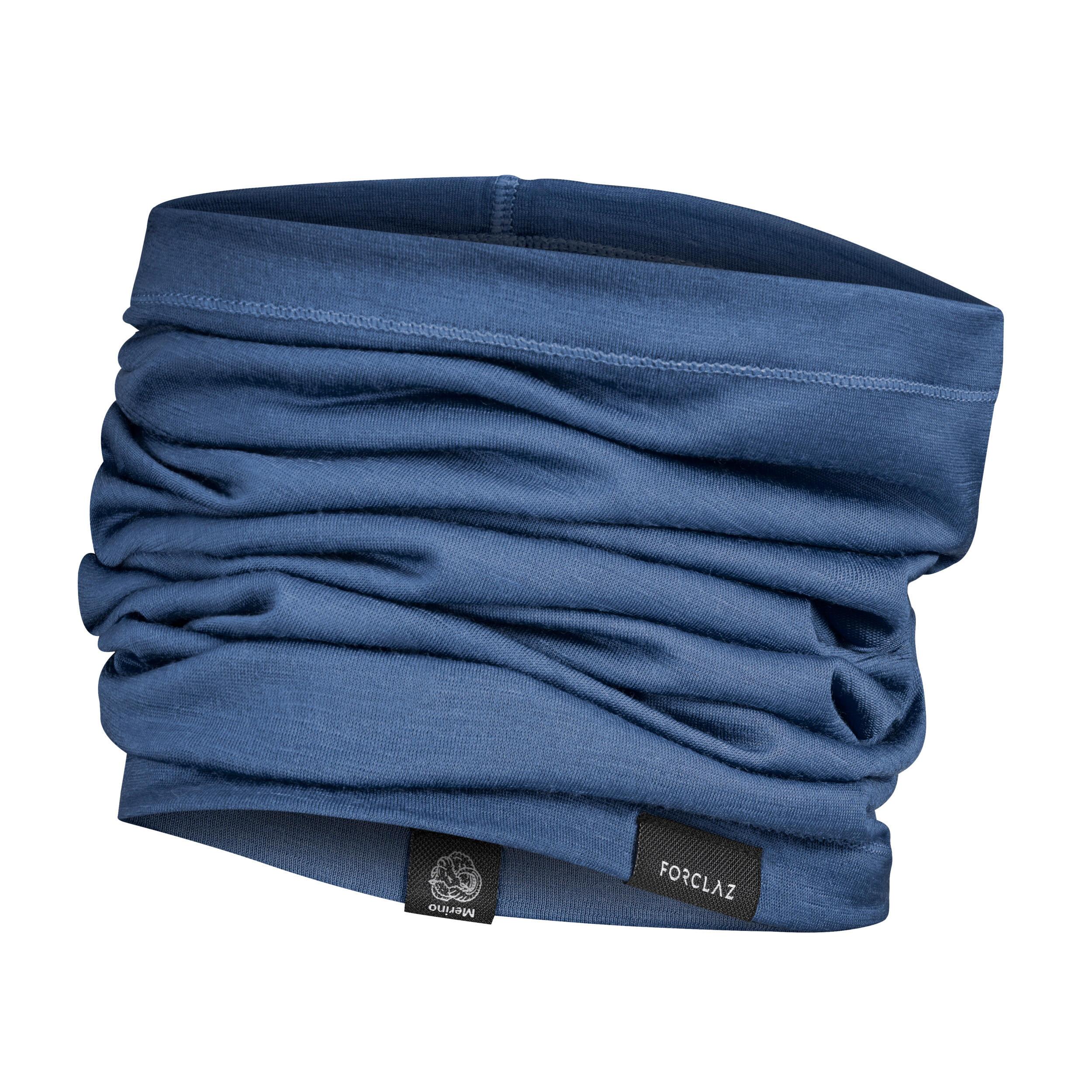 Multifunktionstuch Schlauchschal Trek 500 Merino blau