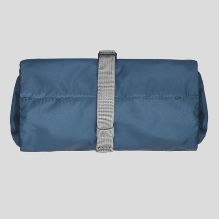 Bolsa de Baño Trekking Forclaz Ultralight Azul Plegable