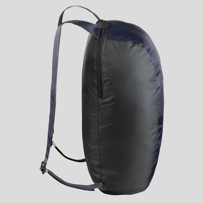 Travel Trekking Compact 10 Litre Backpack Travel 100 - Navy blue