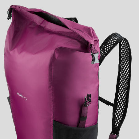 Travel Trekking Compact and Waterproof Backpack 20 L | TRAVEL Purple