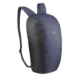Travel Trekking Compact 10 Litre Backpack Travel 100 - Navy blue