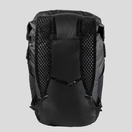 Travel Trekking Compact and Waterproof Backpack 20 L | TRAVEL Black