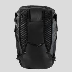 輕巧防水背包20 L Travel 100-黑色