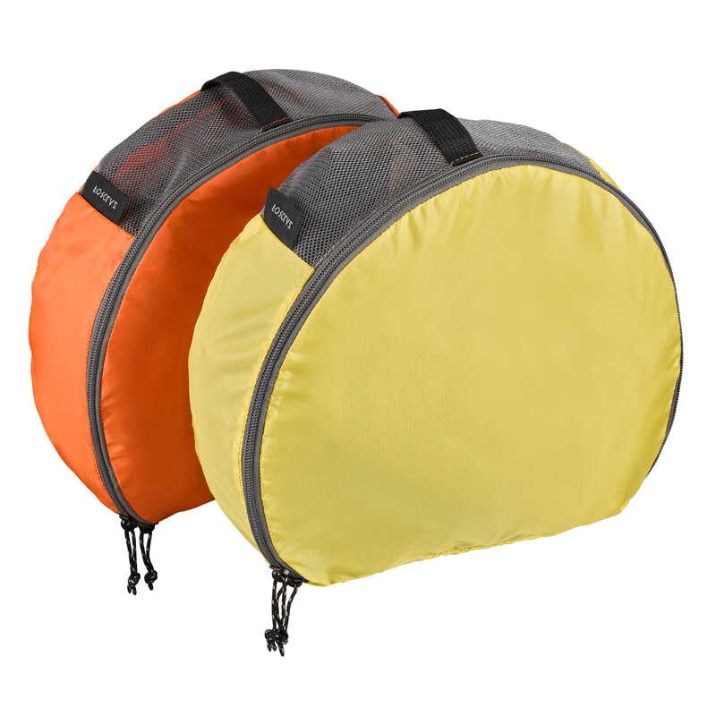 PUTNIČKI PRIBOR Trekking - Polukružne torbe 2 x 7 l FORCLAZ - Dodaci za trekking