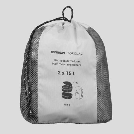 Half-Moon 15 L Storage Bags 2-Pack