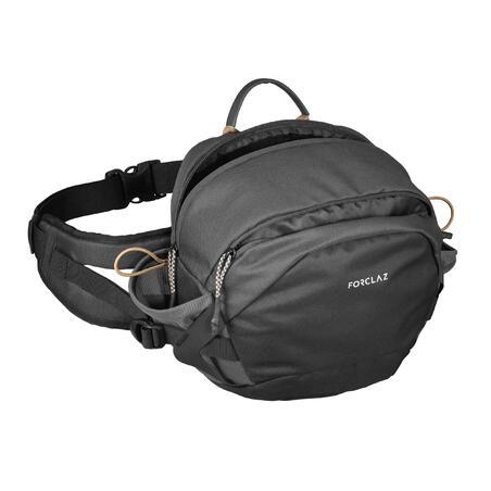 10L Travel Trekking Bumbag - Grey & Brown