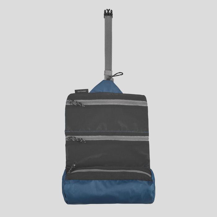 Neceser De Trekking Forclaz Ultralight Azul Plegable