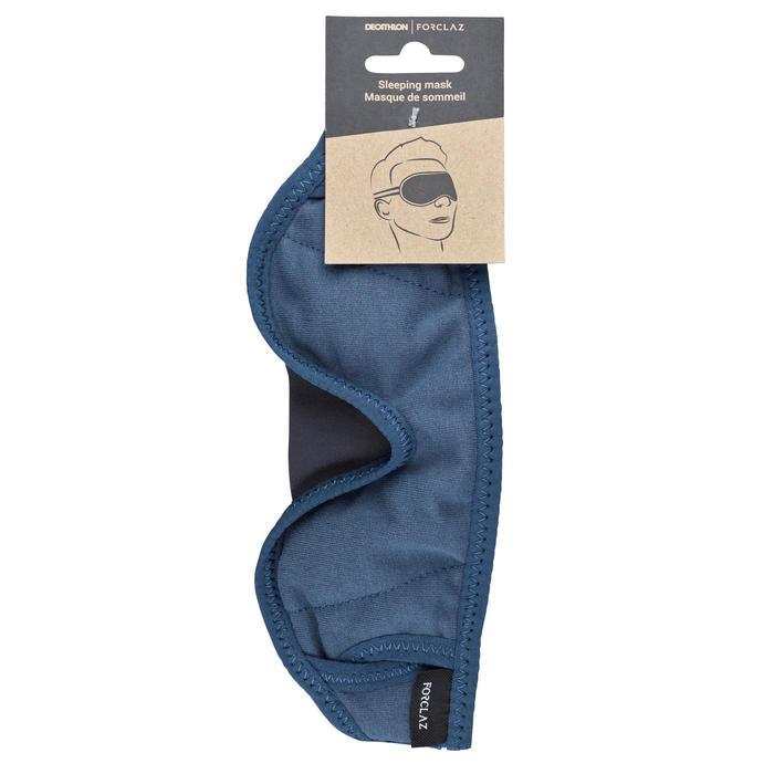 Masque de sommeil de trek voyage - bleu