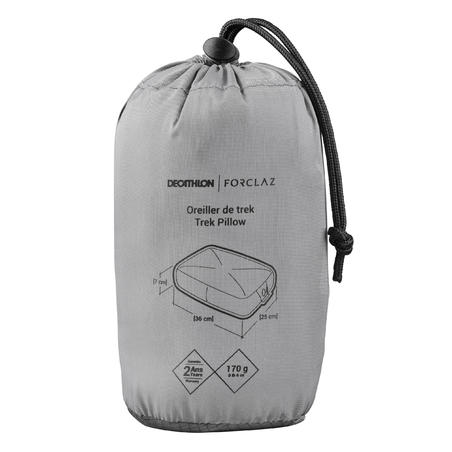 Trekking inflatable pillow - Grey