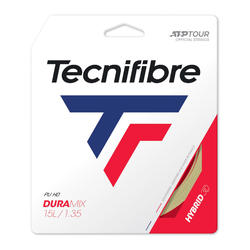 CORDAGE DE TENNIS MULTIFILAMENTS POLYESTER DURAMIX 1.35mm NATUREL