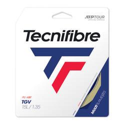 Tennisbesnaring multifilament Tecnifibre TGV 1,35 mm naturel