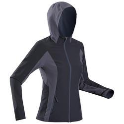 Windjack voor bergtrekking dames - Trek 900 zwart