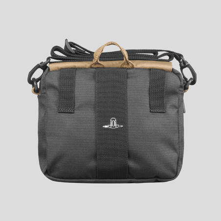 Multi-Pocket Bag Travel - Bwn