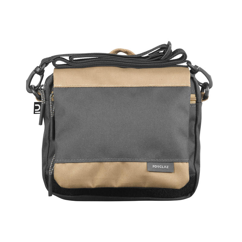 Ceļojuma soma ar kabatām, brūna