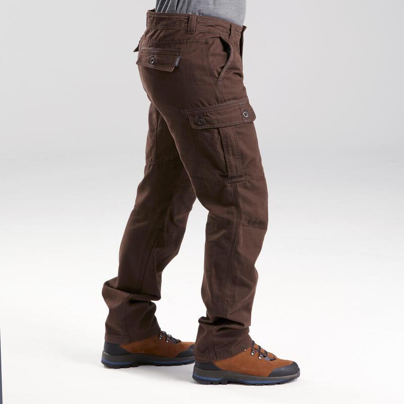 Pantalones Hombre de Montaña y Trekking Travel 100