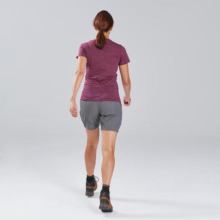 Travel 100 Trekking Shorts Grey - Women's