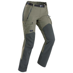 Pantalon de trek montagne | Trek 500 kaki femme