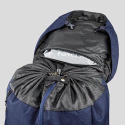 Sac à dos de trekking en montagne homme - TREK 100 Easyfit - 90L bleu