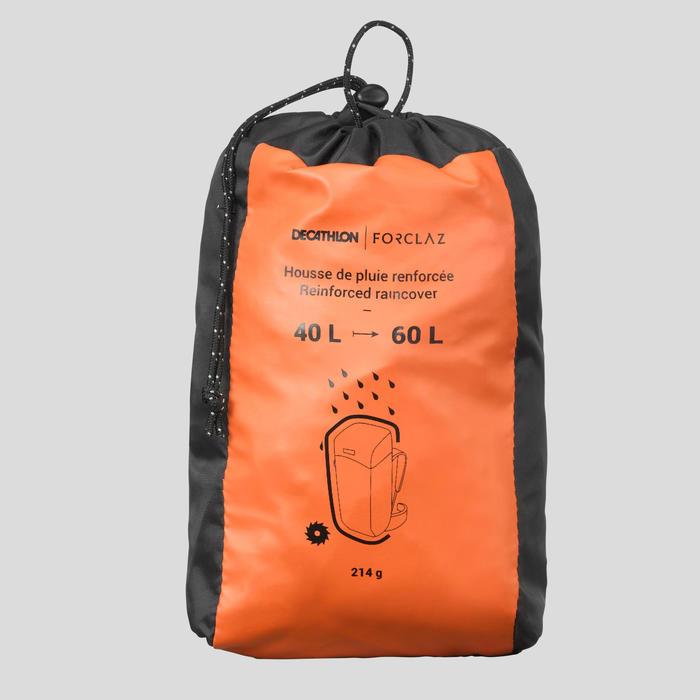 Funda Mochila De Montaña Y Trekking Impermeable Reforzada 40 A 60 Litros Negro