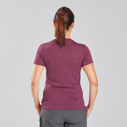 Women's Travel Trekking Merino T-Shirt - TRAVEL