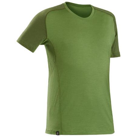 T-shirt en laine mérinos Trek 500 - Hommes