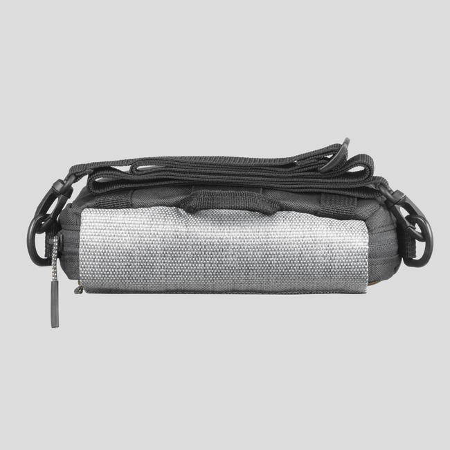 Multipocket bag _PIPE_ TRAVEL - Grey