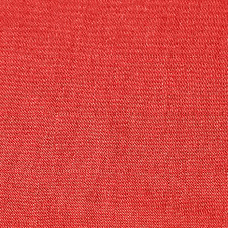 Multi-position Mountain Trekking Tube Scarf - TREK 500 Merino Wool - Red