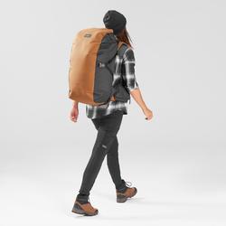 Legging de trek voyage renforcé & multipoches - TRAVEL 500 noir femme