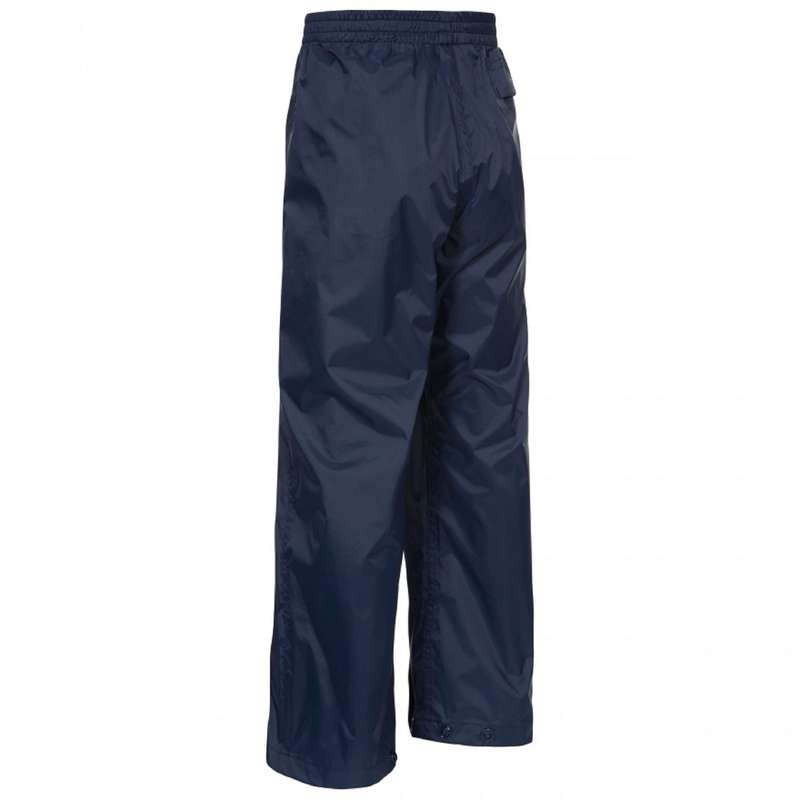CHILDREN MOUNTAIN HIKING OUTFITS Hiking - QIKPAC KIDS' W-PROOF TROUSER TRESPASS - Hiking Clothes