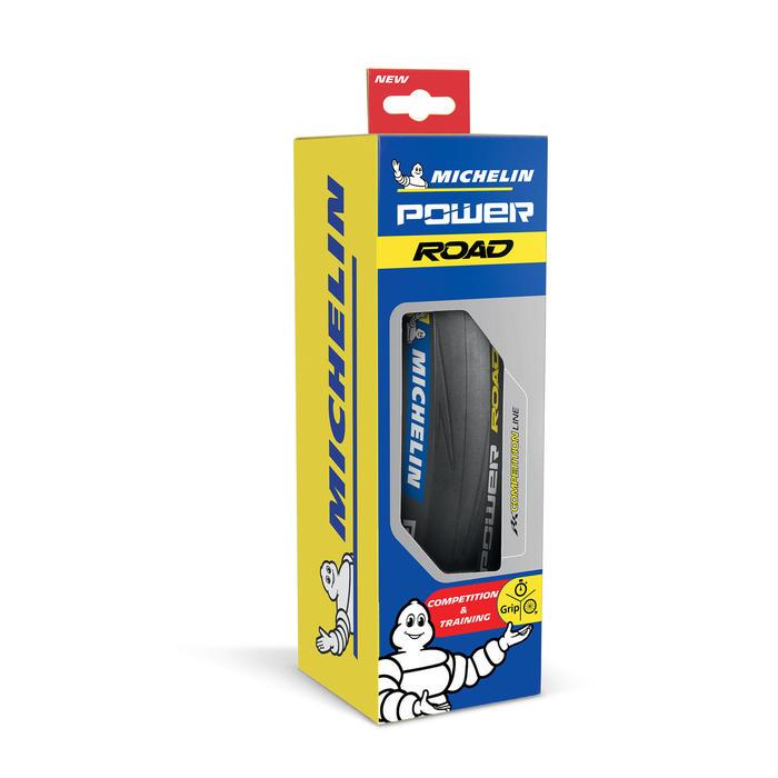 Buitenband voor racefiets Michelin Power Road zwart vouwband 700x25