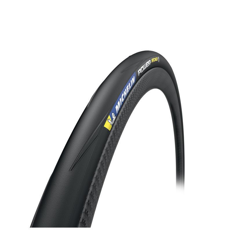 700x25 Flex Bead Road Tyre Power Road - Black